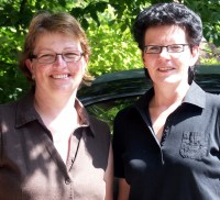 kerstin Effe und Carola Schulze